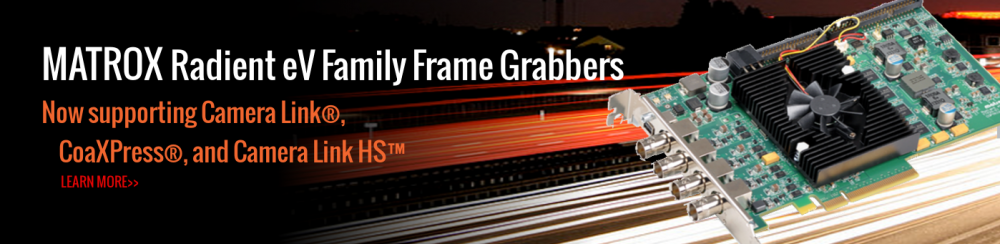 hero 17 matrox frame grabber radient