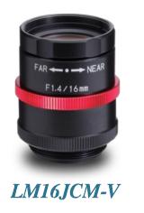 LM16JCM-V Lens Pic