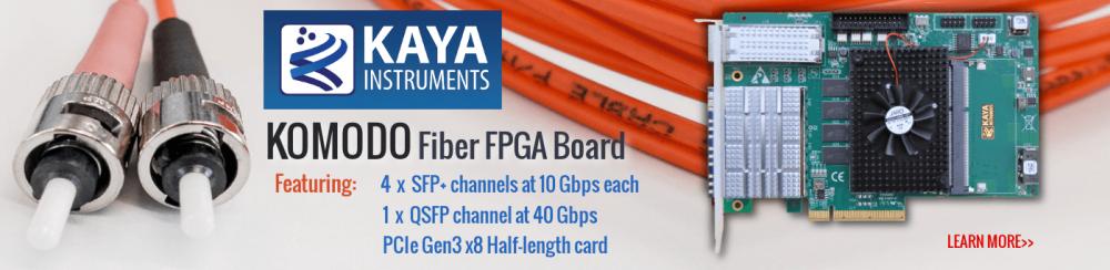 Kaya Instruments Komodo FPGA Board