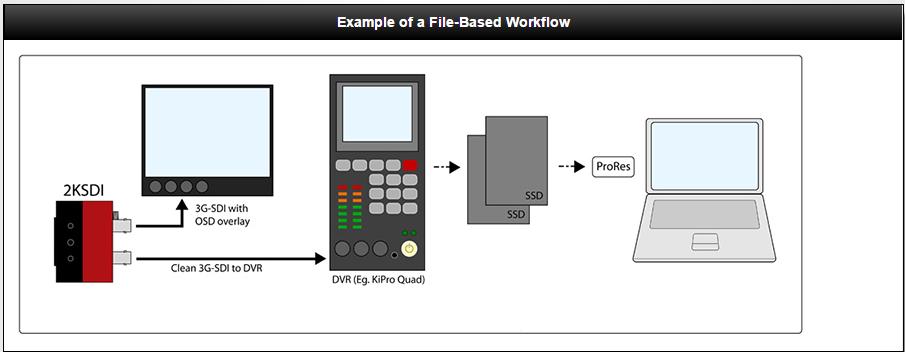 IO industries work flow diagram