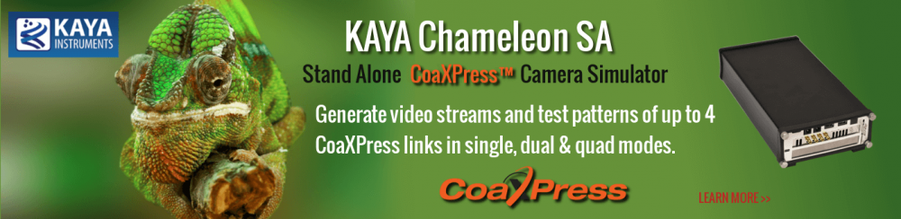 Kaya Chameleon CXP CoaXPress Camera Simulator