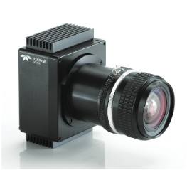 Dalsa Color Piranha camera pic with LENS