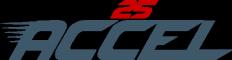 25 GiGE logo accel
